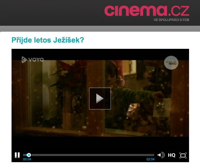 Přijde letos Ježíšek? – cinema.nova.cz